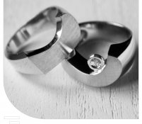 Partner ringen witgoud diamant
